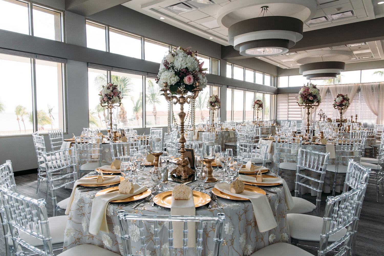 Wedding reception ballroom hilton ponce puerto rico after hurricane maria