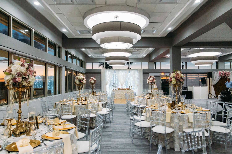 Hilton Ponce in Puerto Rico ballroom wedding after hurricane maria first wedding post hurricane