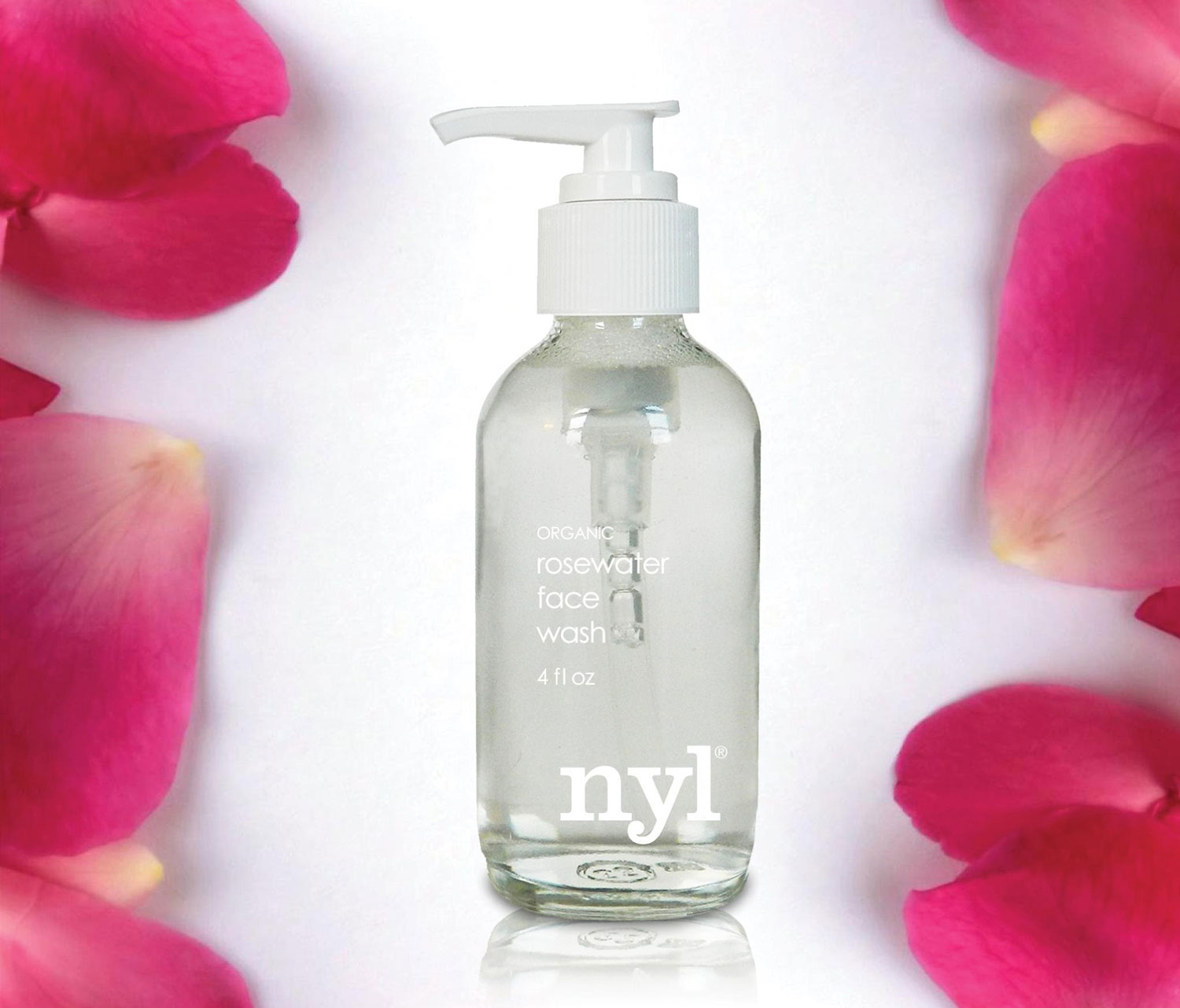 NYL Skincare Rosewater face wash wedding beauty ideas tips