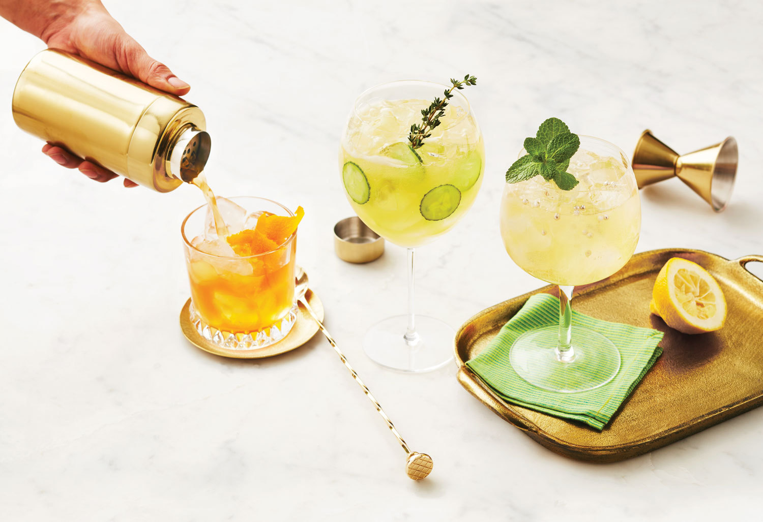 Gin cocktails for royal wedding viewing party british cocktail ideas