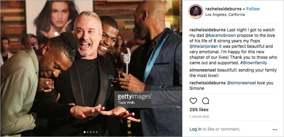 queer eye karamo brown and ian jordan engaged, karamo brown son jason brown