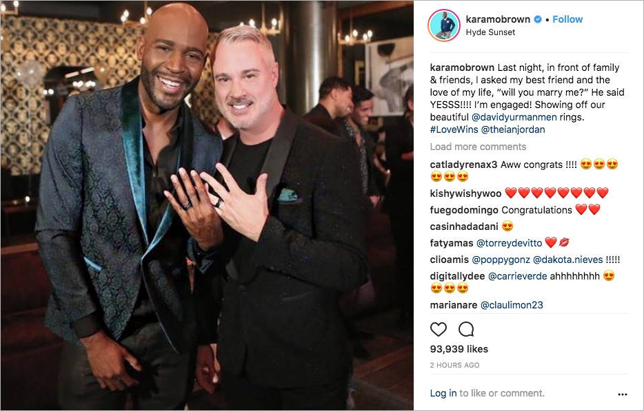 queer eye karamo brown engaged to ian jordan