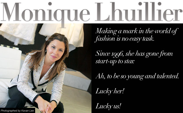 Monique Lhuillier up close and personal interview with Inside Weddings magazine
