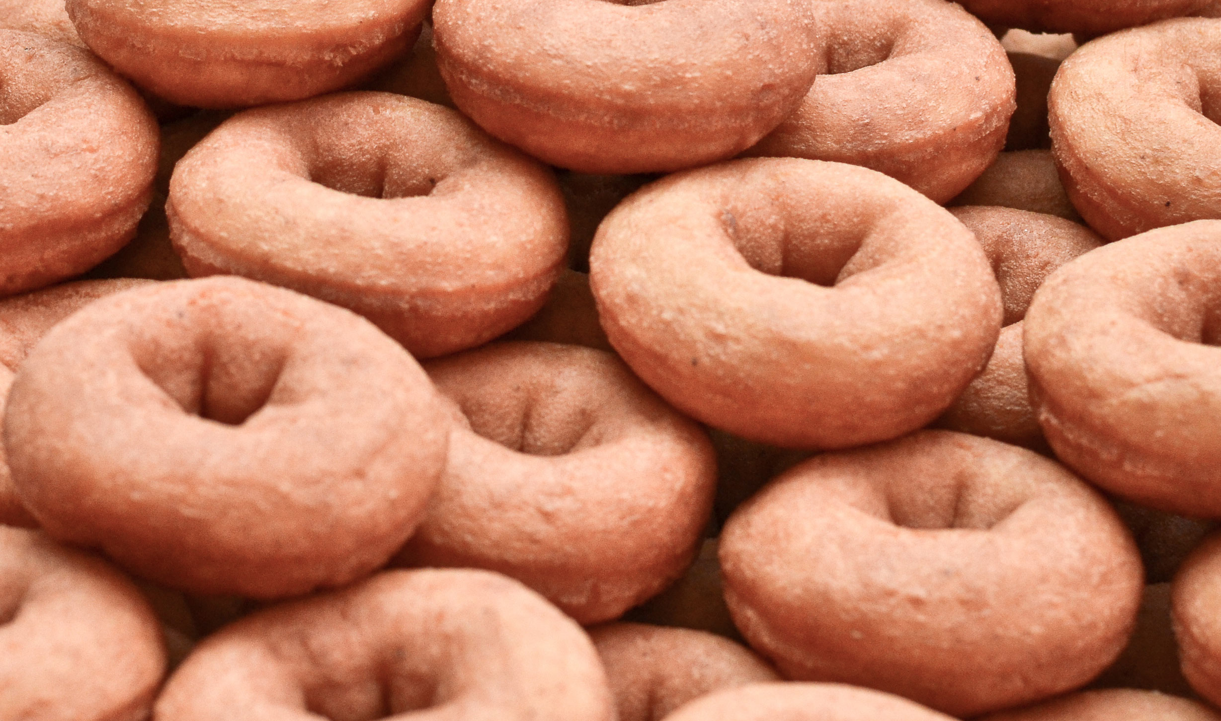 National Donut day maple donuts at wedding reception doughnut