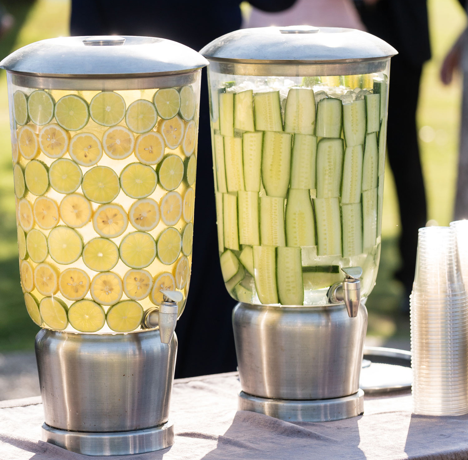 how to beat the heat at summer weddings