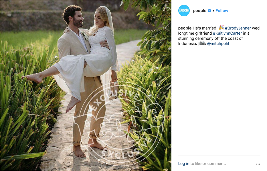 brody jenner kaitlynn carter wedding in indonesia