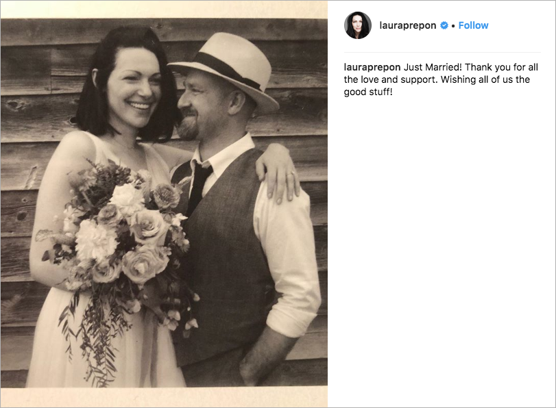 laura prepon and ben foster wedding