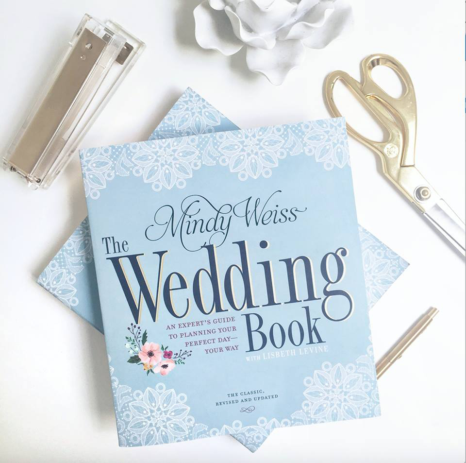 Engagement gift idea engaged friend the wedding book by mindy weiss guide to planning your perfect day