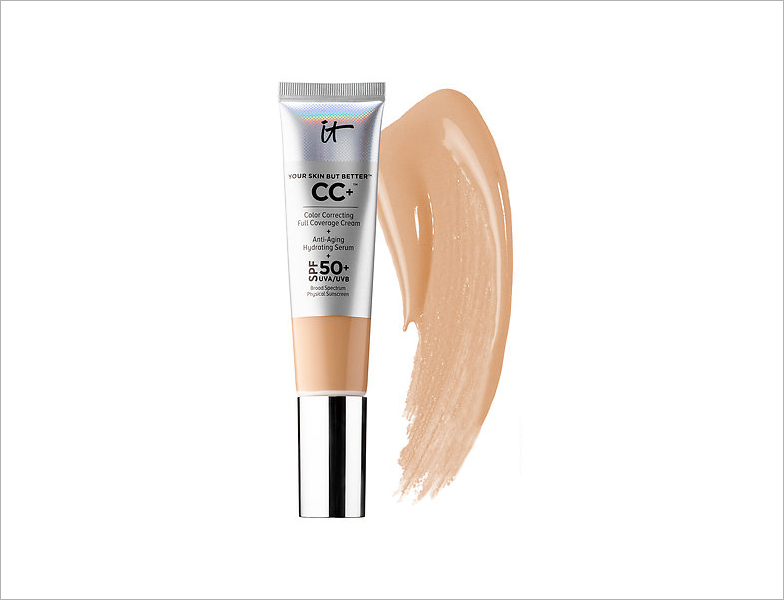 It Cosmetics your skin but better cc cream with spf summer wedding beauty product ideas