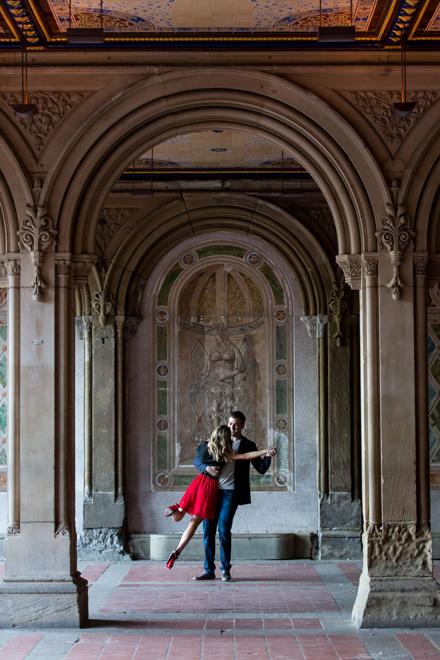 Bride in skirt and christian louboutin heels new york city central park cool architecture ideas