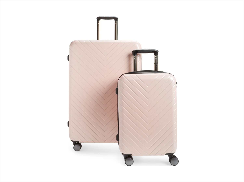 Nordstrom anniversary sale chevron spinner luggage set nordstrom honeymoon ideas