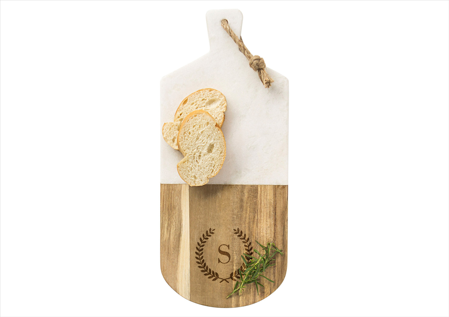 nordstrom anniversary sale monogram marble and wood serving board by cathy's concepts wedding gift ideas
