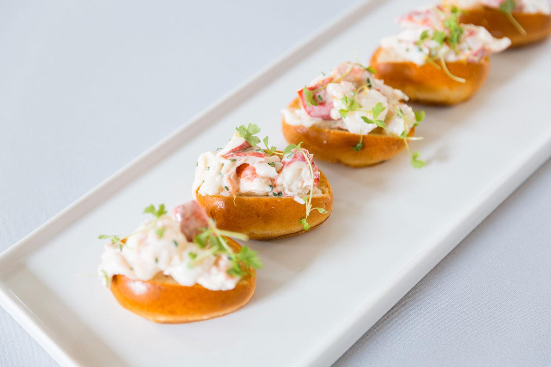 Lobster rolls from redbird and vibiana chef neal fraser summer entertaining ideas bite size snacks