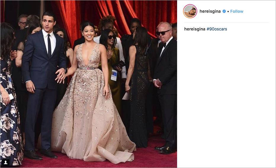 Joe LoCicero and Gina Rodriguez engagement ring