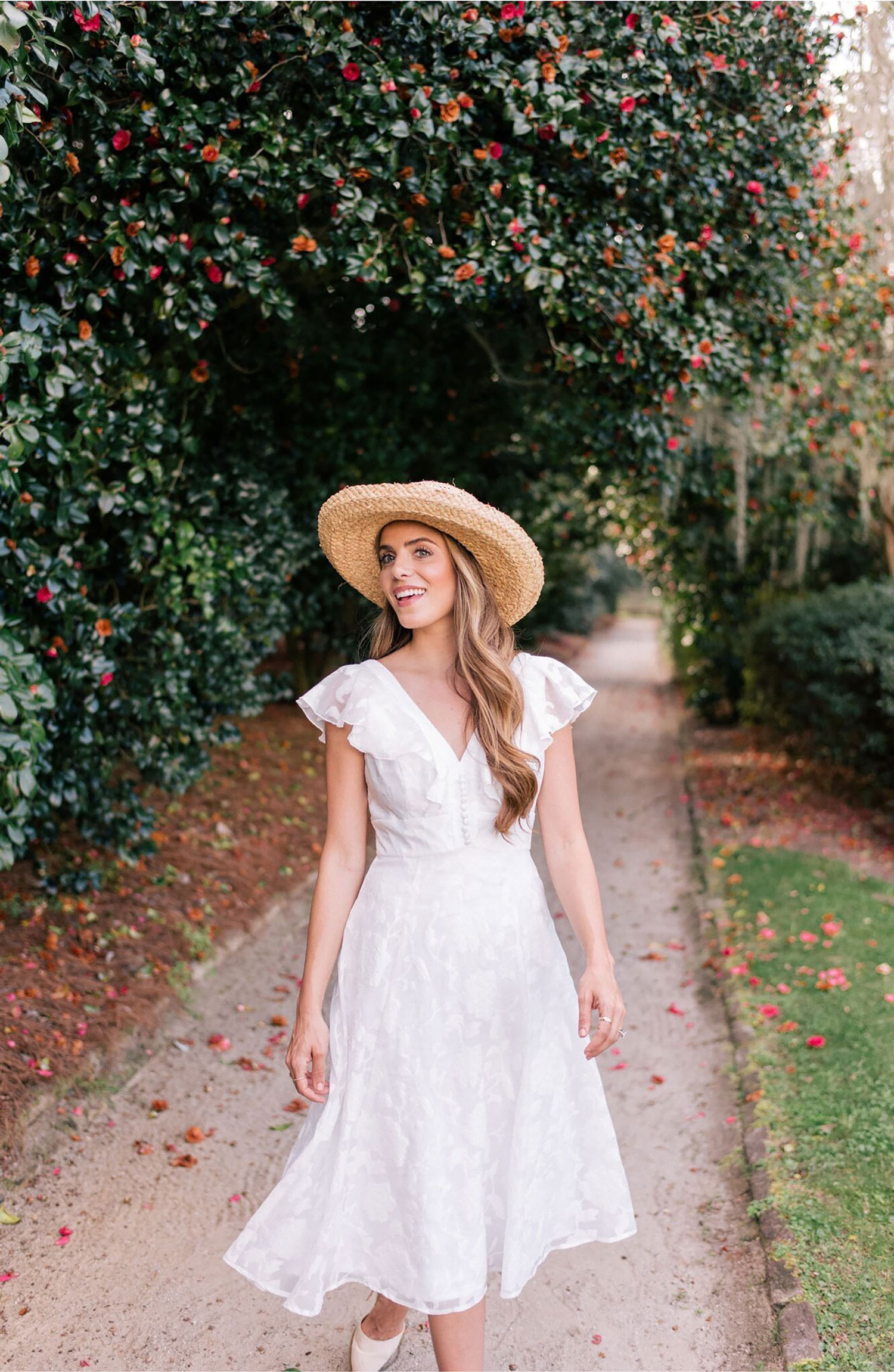Susie gal meets glam collection nordstrom white dress bridal shower dress ideas