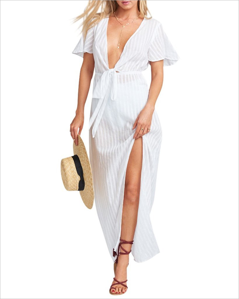 Fiona maxi dress show me your mumu bridal shower dress ideas white