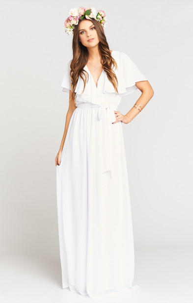 White Dresses Perfect For Brides To Be To Wear To Pre Wedding Events
