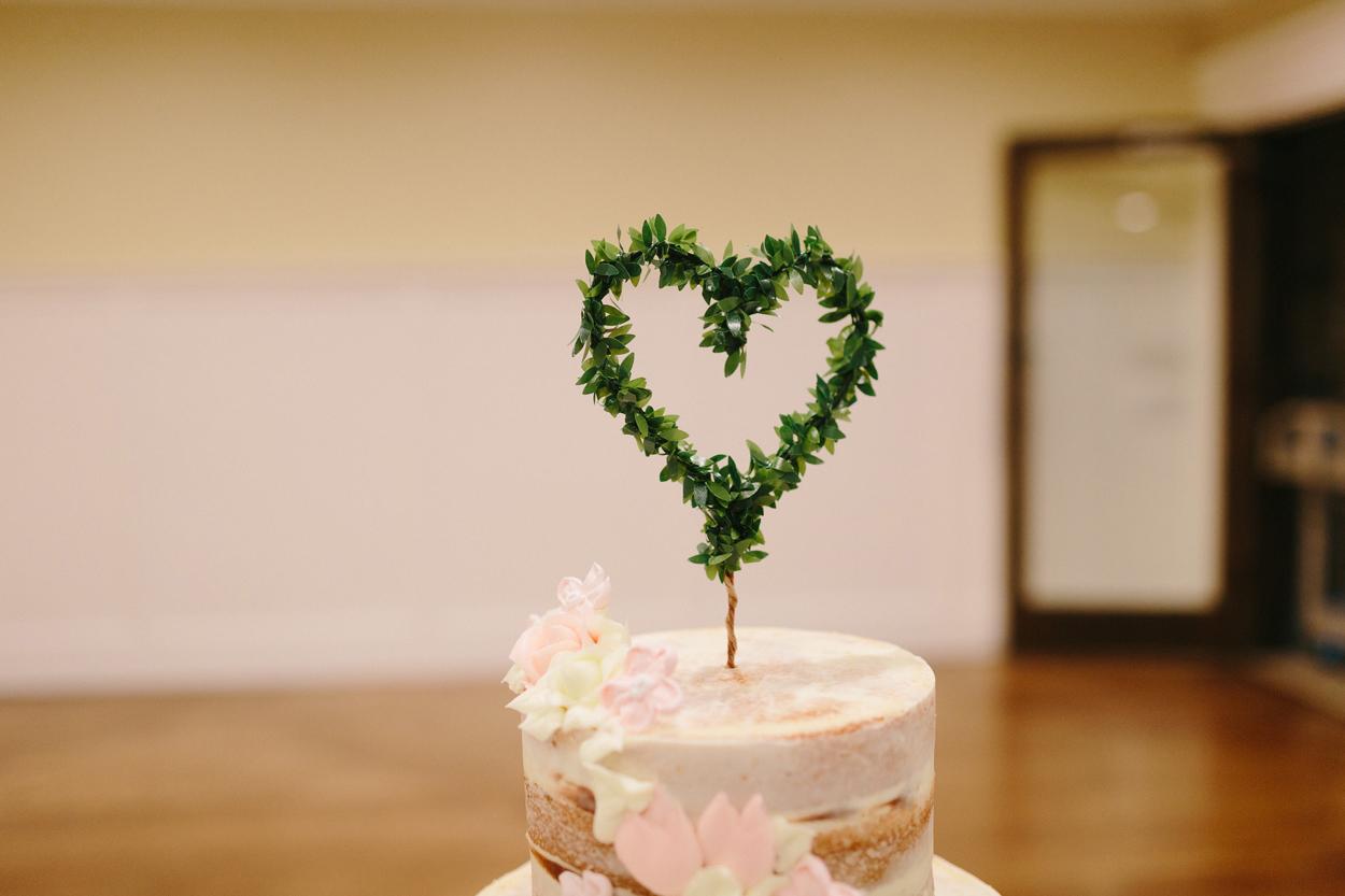making it finale, etsy wedding planning, greenery heart cake topper