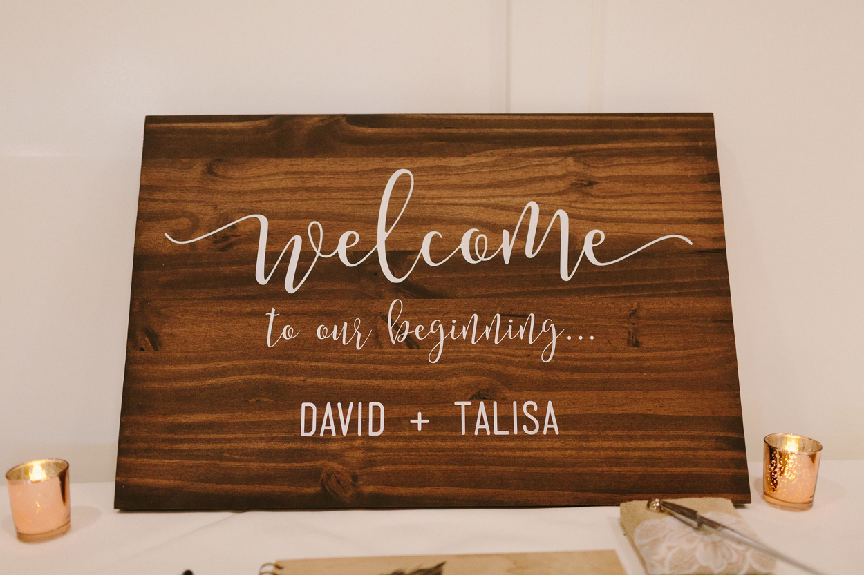 making it finale, etsy wedding planning, wooden welcome sign