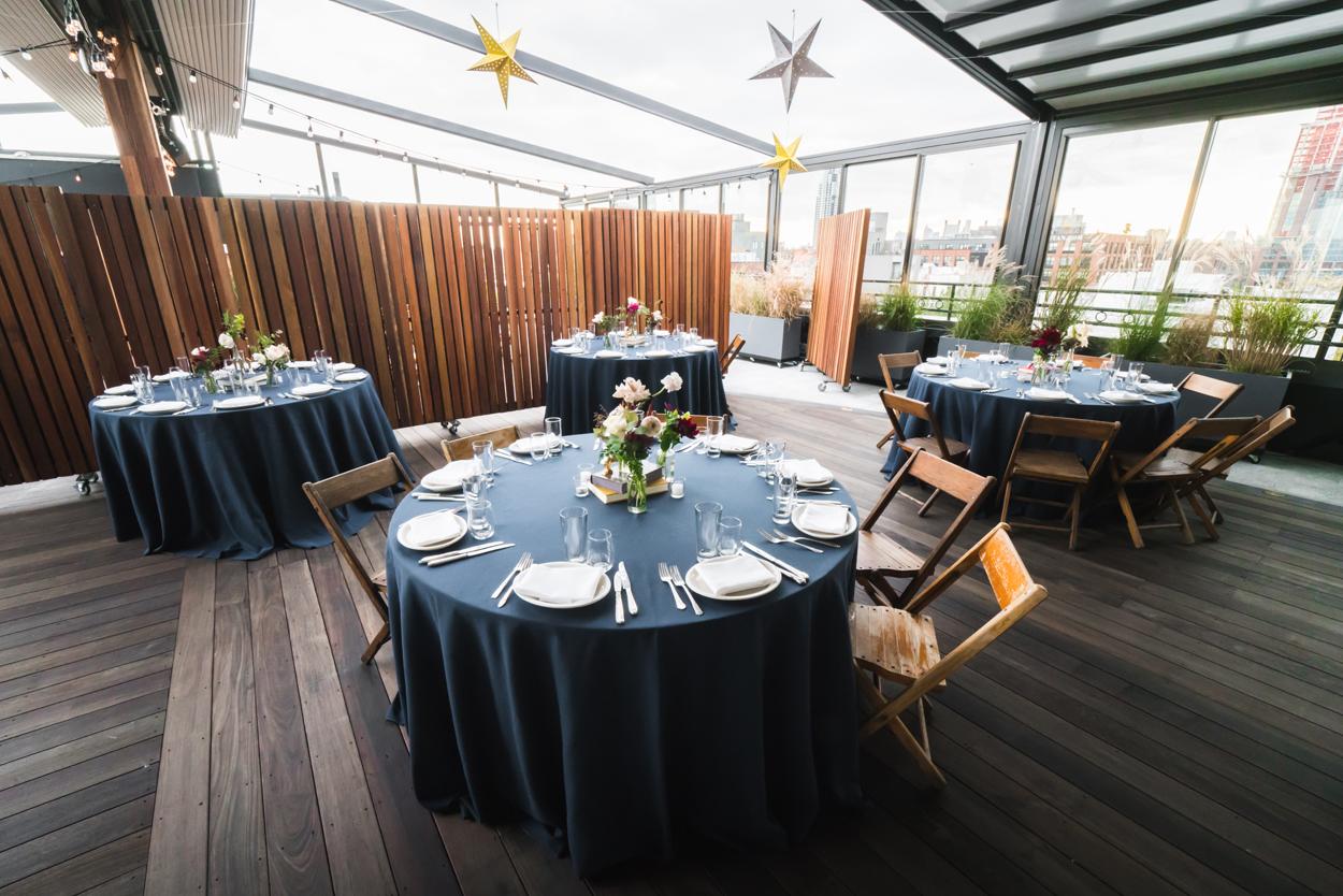 the box house hotel wedding reception, wedding venues in brooklyn, unique wedding venues new york