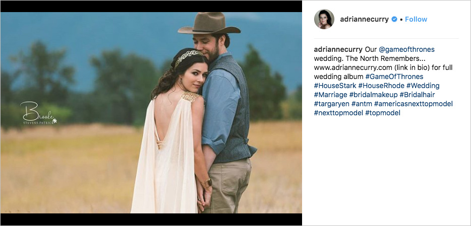 adrianne curry matthew rhodes game of thrones wedding elopement in montana