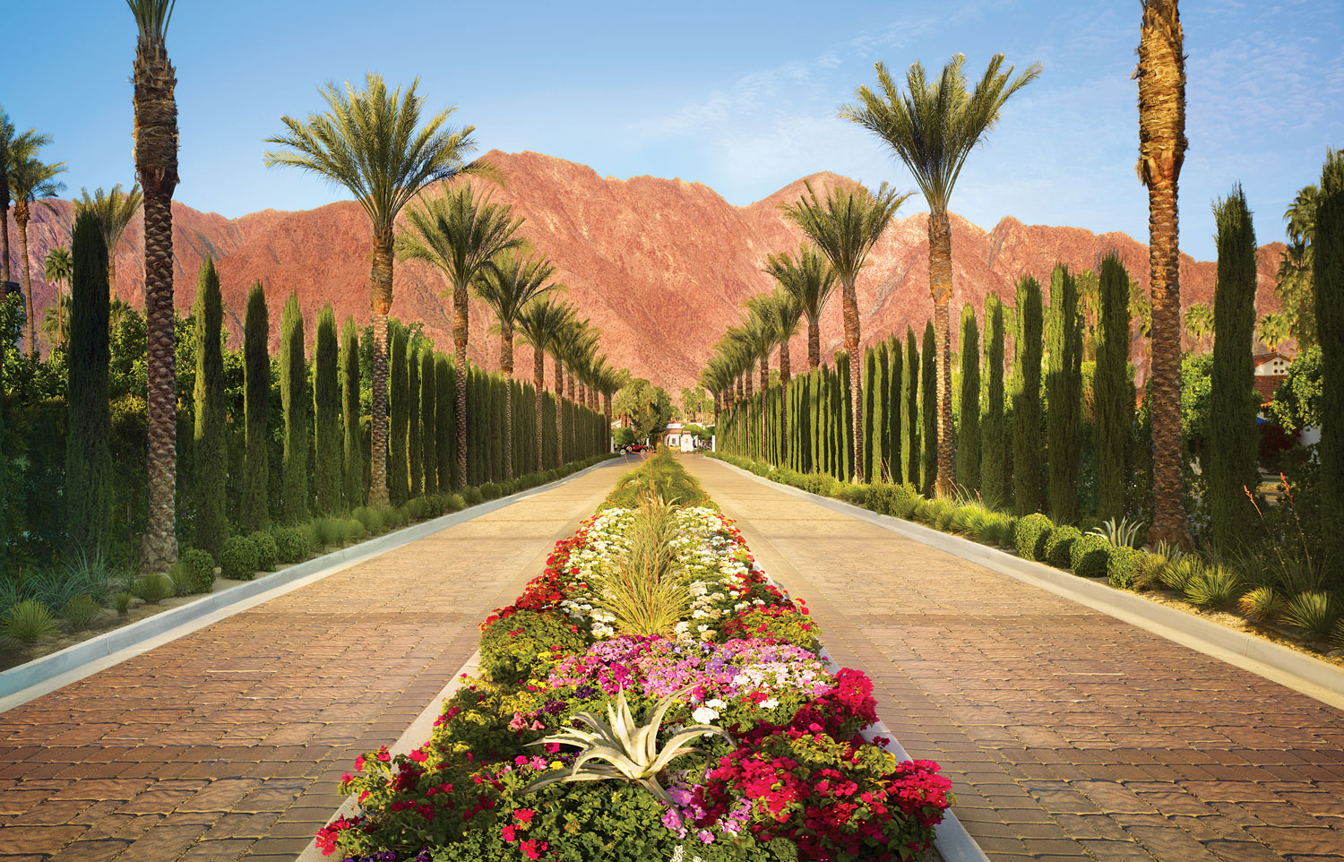La Quinta Resort and Club hotel southern california palm springs desert destination wedding