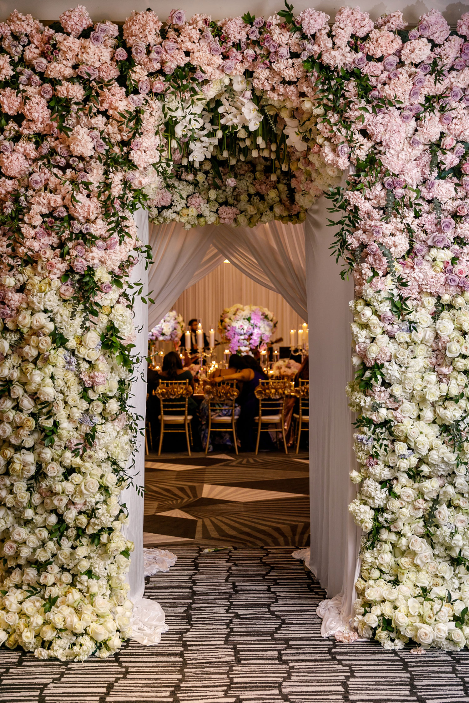 flower arch to reception space the kesh experience wedding decor ideas