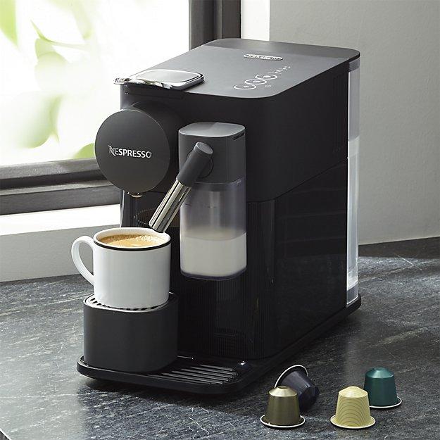 Delonghi black lattissima one espresso maker crate and barrel wedding registry ideas