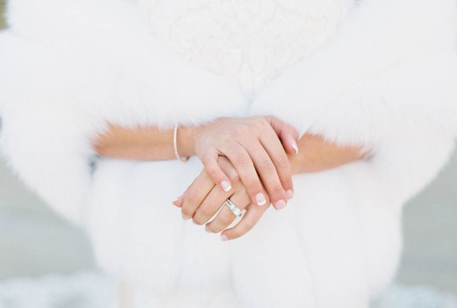 how to have the perfect bridal manicure, tips for a wedding manicure