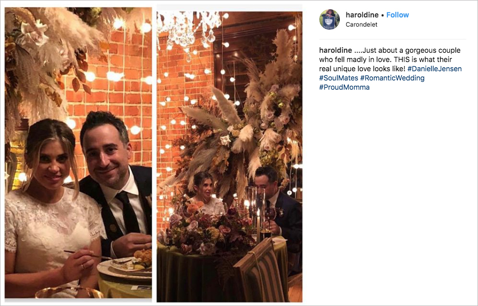 danielle fishel and jensen karp wedding carondelet house fall wedding inspiration