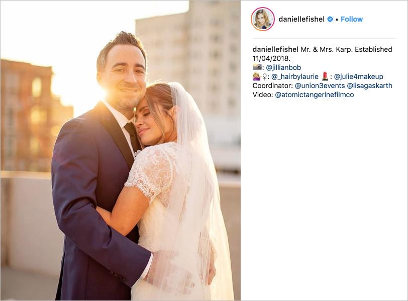 danielle fishel and jensen karp wedding carondelet house