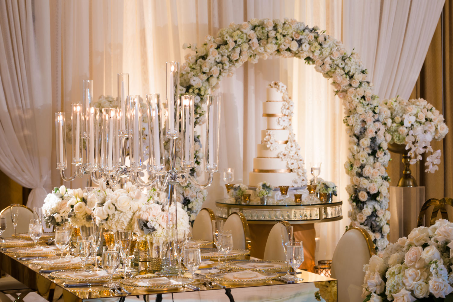 how to reuse ceremony decor in your wedding reception