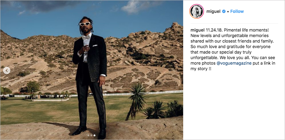 Miguel & Nazanin Mandi wedding, tuxedo white sunglasses, hummingbird nest ranch