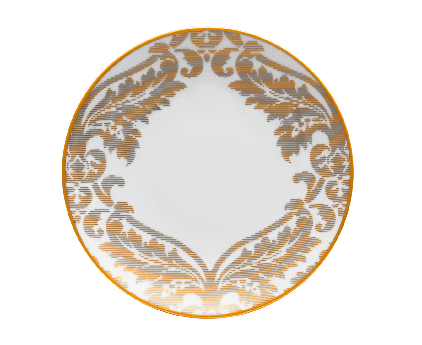 Haviland Damasse Gold Dinner Plate from gearys holiday entertaining