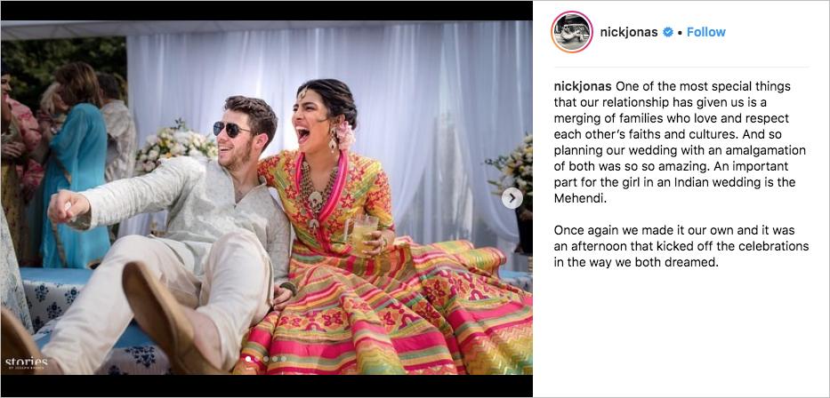 nick jonas and priyanka chopra wedding mehendi