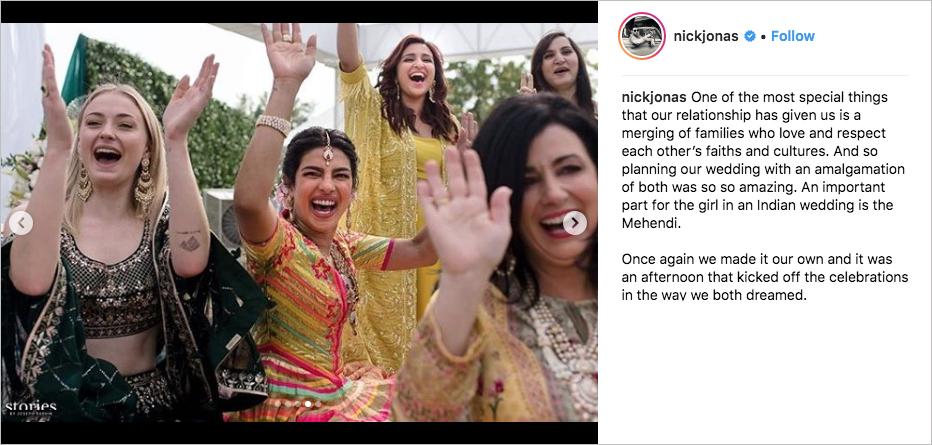 nick jonas priyanka chopra wedding celebration, sophie turner