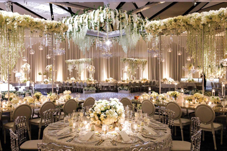 inside weddings winter 2019 issue preview wedding reception white cream dance floor