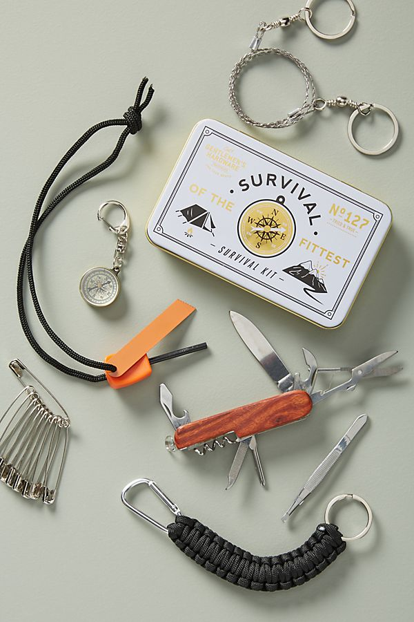 Gentleman's Hardware survival kit holiday gift ideas for him