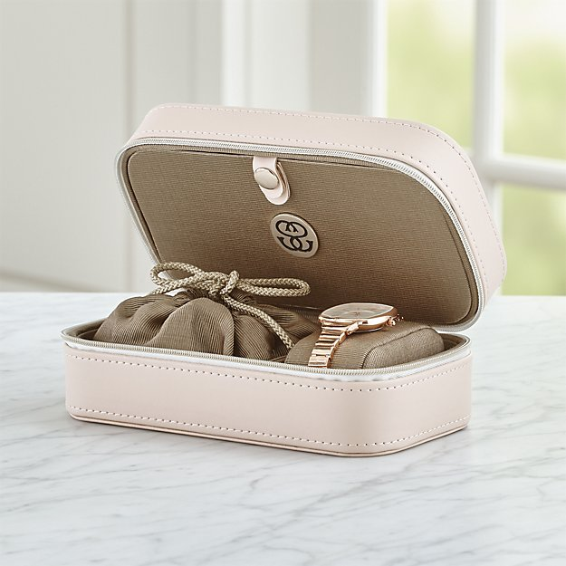 agency blush jewelry box travel kit holiday gift ideas for her