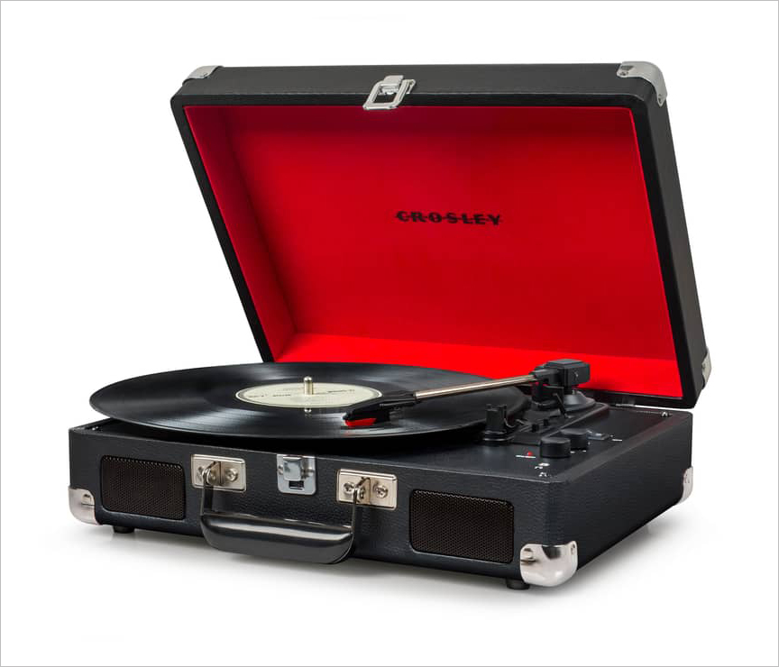 cruiser turntable crosley radio holiday gift ideas record player