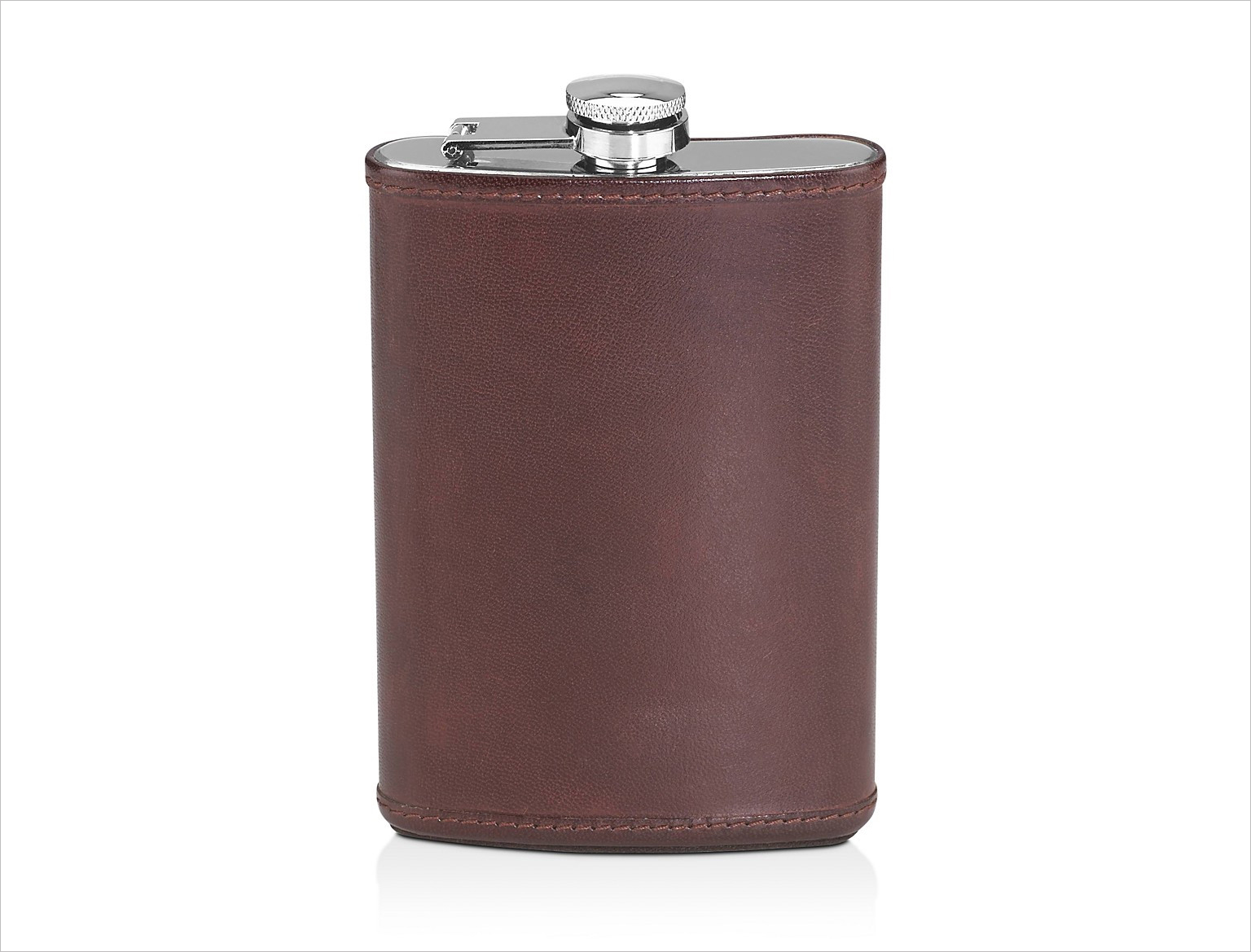 hudson leather flask holiday gift ideas
