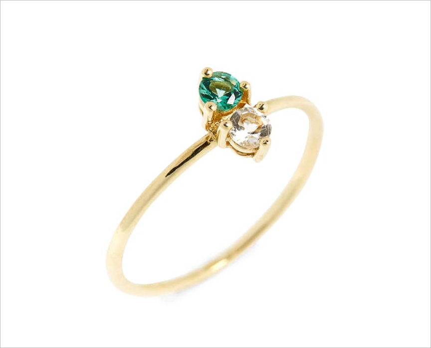 Bon Levy birthstone stacking ring holiday gift ideas