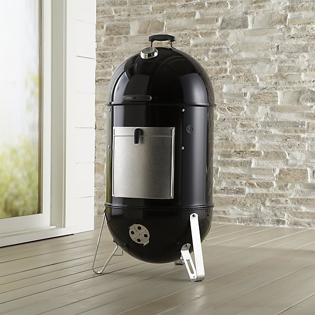 Smokey Mountain black cooker smoker crate and barrel weber holiday gift ideas for him