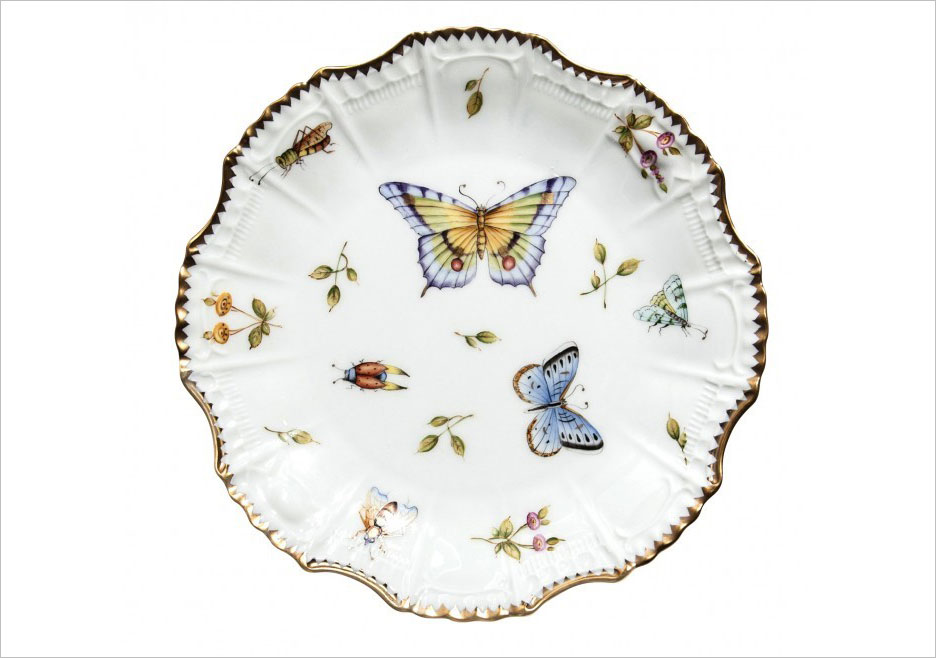Anna Weatherley Spring in Budapest star plate from Gearys registry ideas