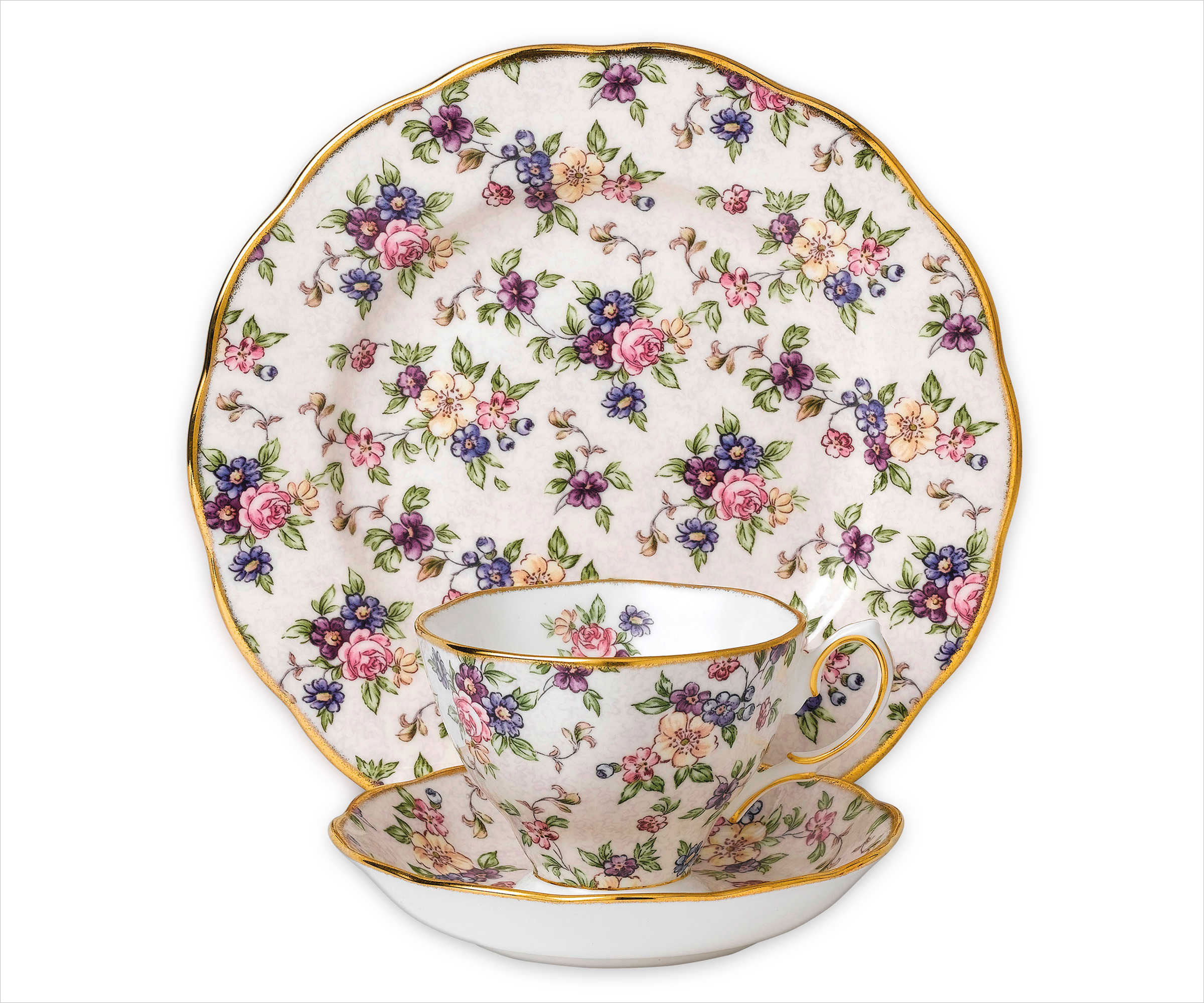 royal albert 1940 english chintz china place setting bed bath and beyond registry ideas