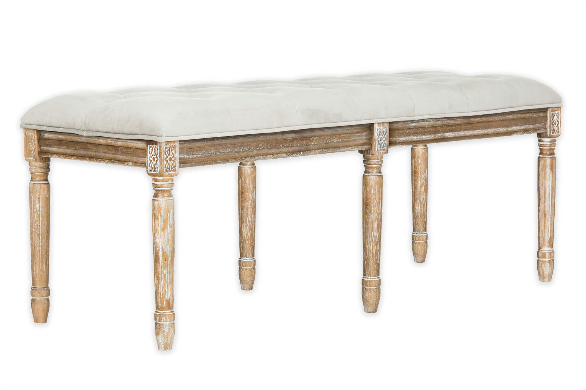 Safavieh tufted bench in grey bed bath and beyond registry ideas