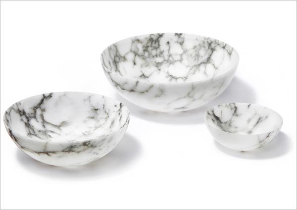 Tondo alabaster bowls anna by rablabs