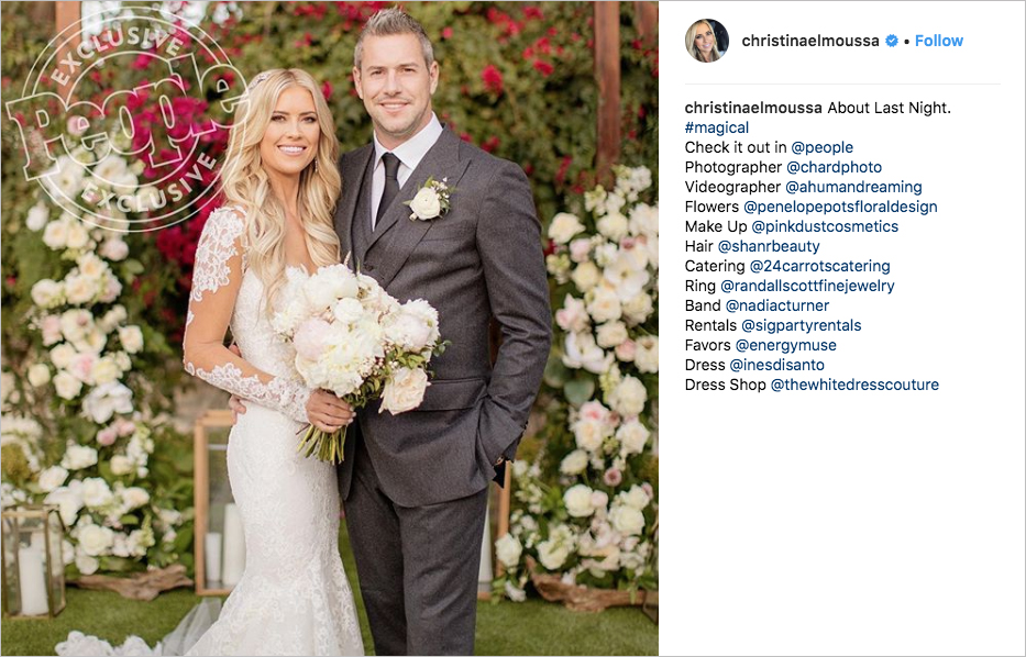 christina el moussa flip or flop surprise wedding to ant anstead