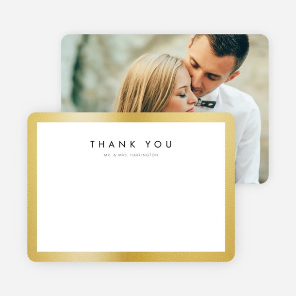paper culture eco friendly wedding invitation wedding frame of mind thank you card