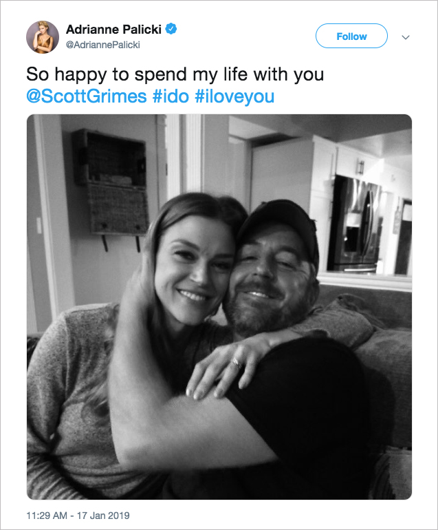 adrianne palicki & scott grimes the orville engaged